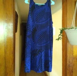 Athleta Santorini Printed High Neck Dress NWT